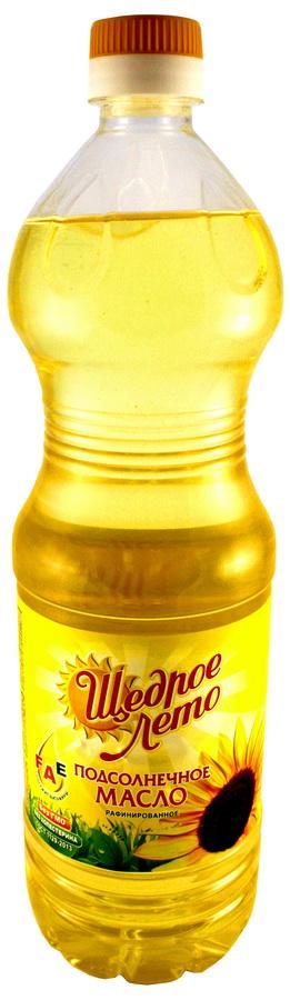 Щедрое лето масло подсолнечное картинки